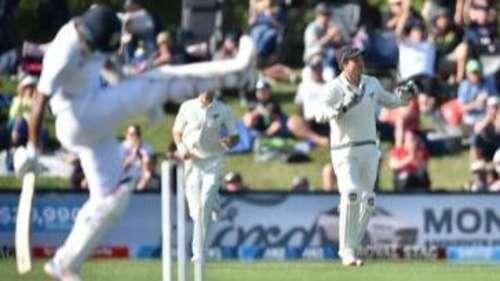 क्राइस्टचर्च की 'चाय' पीकर ढही टीम इंडिया, पहले दिन ही मैच हाथ से गया
