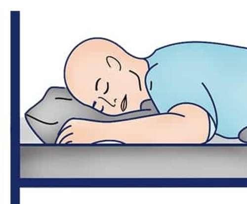 Best sleep position for O2?
