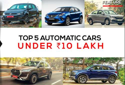 Top 5 automatic cars