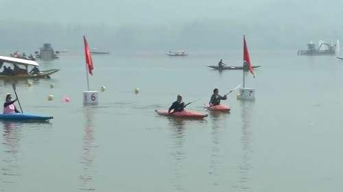 Water sports resume at Dal Lake after prolonged pandemic break
