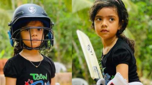 Meet Mehak, the six-year-old who plays perfect cricket shots