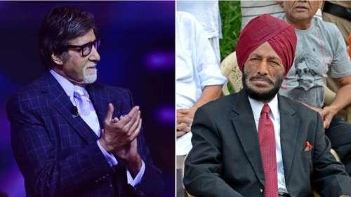 Amitabh Bachchan remembers Milkha Singh, calls him an inspiration for all