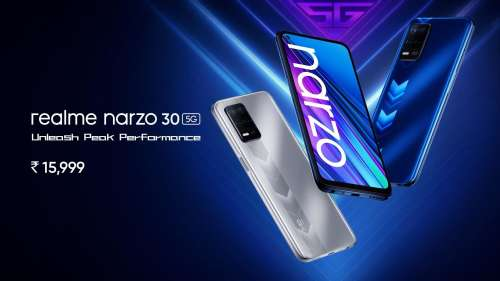 Realme Narzo 30, Narzo 30 5G launched in India: check price, specs & features