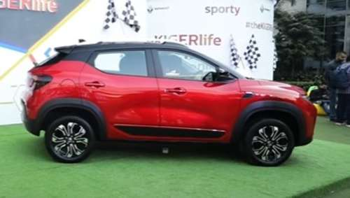 Renault kiger SUV preview