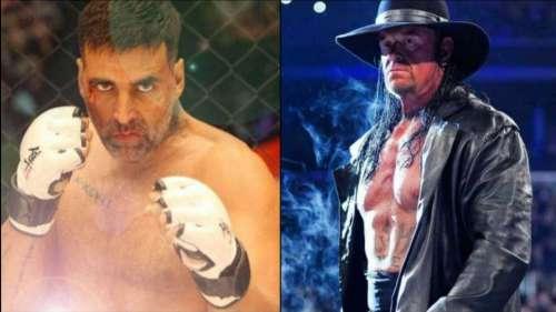 Undertaker ने दी अक्षय कुमार को फाइट करने की चुनौती, एक्टर के छूटे पसीने!
