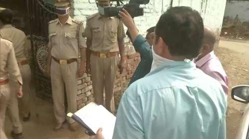 हाथरस में आरोपियों के घर पहुंची CBI, बारी-बारी से कर रही है पूछताछ