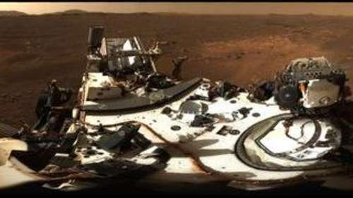 मंगल पर रोवर की लैंडिग साइट का NASA ने शेयर किया मनोरम नजारा