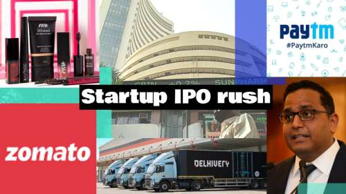 Startup IPO rush:Nykaa,Zomato,Paytm,Delhivery
