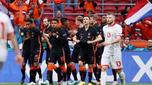 Dutch beat North Macedonia