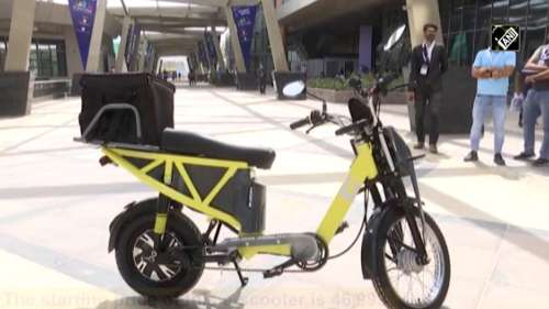 e-scooter from an IIT-D incubated start-up cuts travel cost to just 20 paise/km