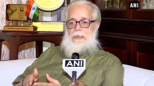₹1.3 cr compensation to former ISRO scientist in fake spy case