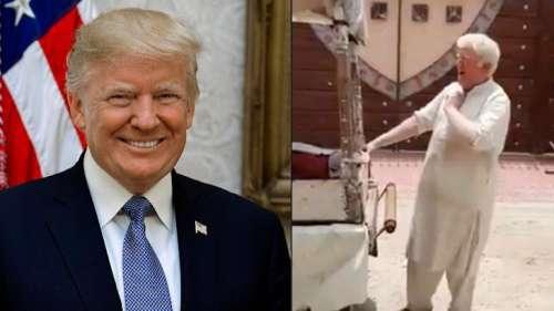 Trump selling kulfi in Pak?