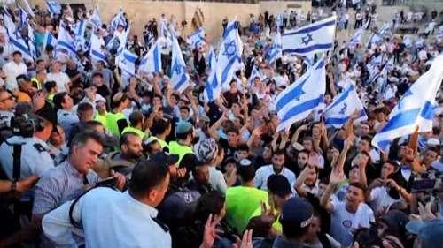 Israel-Palestine: येरुशलम में यहूदियों ने 'अरब लोगों को मौत दो' नारे लगाए, विदेश मंत्री नाराज