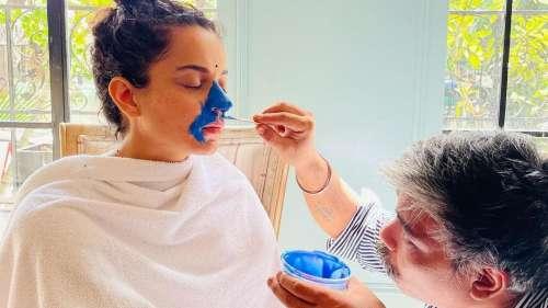 Indira Gandhi बनने को तैयार कंगना रनौत, सामने आईं तस्वीरें
