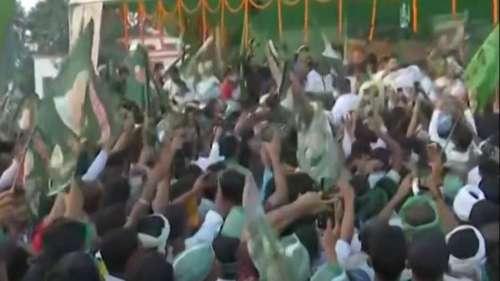 तेजस्वी की सुरक्षा में चूक, RJD ने बिहार पुलिस पर साधा निशाना