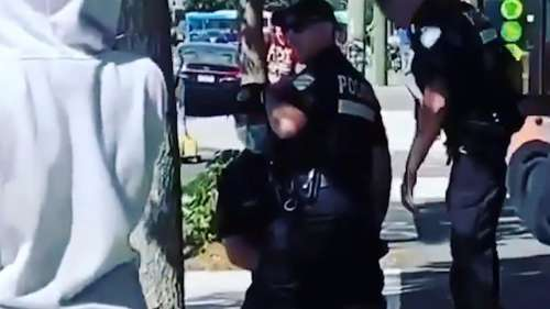 Canada: video of police kneeling on Black teenager triggers outcry