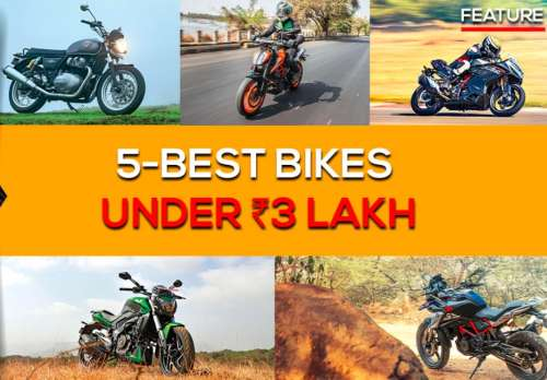 Top motorcycles under 3 Lakh