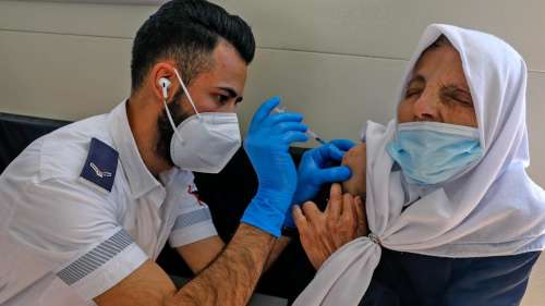 Israel to provide 1 million Covid-19 vaccine doses to Palestinians under sharing deal
