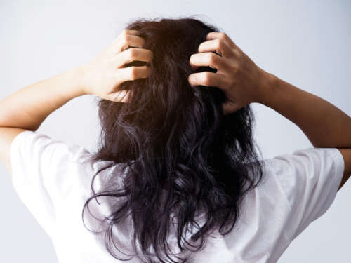 Styling hair can be damaging