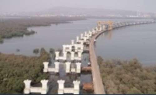 India's longest sea bridge