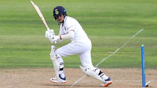 Shafali Verma announces her arrival in Tests with a bang!