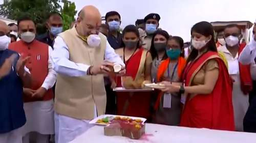 Covid vaccination to pick pace in July, August: Amit Shah