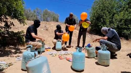 Palestinian Balloons: हमास के लोग इज़राइली खेतों को आग वाले बलून से बना रहे निशाना, बदले में हवाई हमला