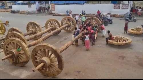 Jagannath Rath Yatra 2021: 12 जुलाई से शुरू होगी प्रसिद्ध रथयात्रा, रथ बनाने का काम जारी
