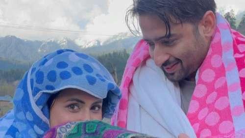 Video: हिना खान का नया म्यूजिक वीडियो...कंपकंपाती ठंड में किया शूट