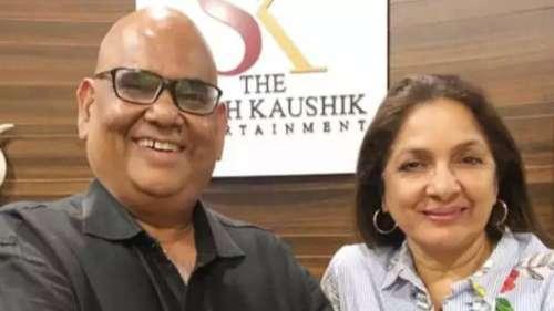 NeenaGupta onSatishKaushik'soffer to marry her, says 'had tears in my eyes'
