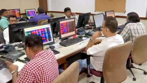 Nifty ends at record-high; PSU banks biggest gainers