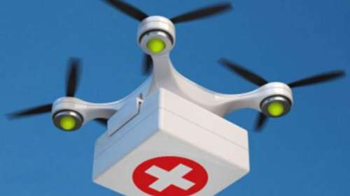 Vaccines by drone?
