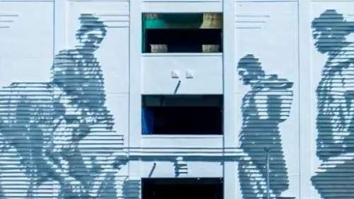 Anonymous graffiti artist Daku's latest mural depicts the Chennai water crisis