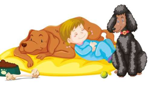 Let your kids sleep with your pets for 'paw'sitively good sleep