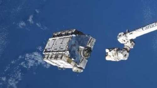 स्पेस स्टेशन से वैज्ञानिकों ने फेंका 2.9 टन कचरा, 2 से 4 साल में धरती पर गिरेगा