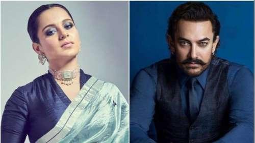 KanganaRanaut drags AamirKhan's 'intolerant remark' in her passport renewal row
