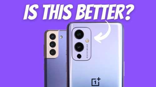 Camera Comparison: OnePlus 9 vs Samsung Galaxy S21+
