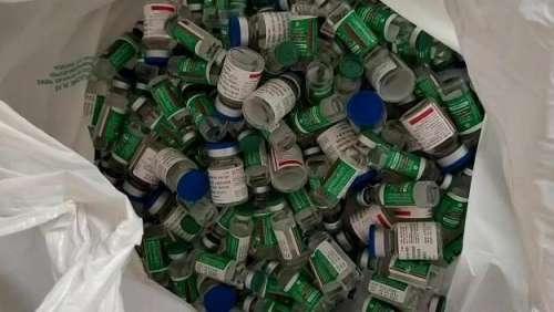 चोर ने लौटाई वैक्सीन