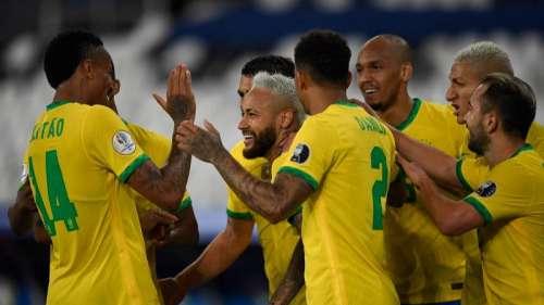 Copa America: Neymar moves closer to Pele's record as Brazil thrash Peru
