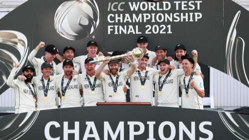 New Zealand crowned 'kings of Test', beat India by 8 wickets