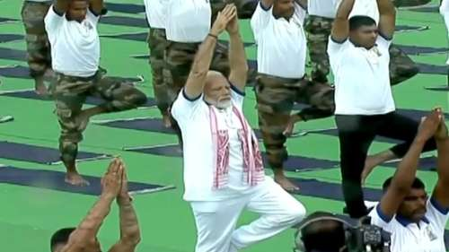 International Yoga Day: PM Modi to address Yoga event on Monday