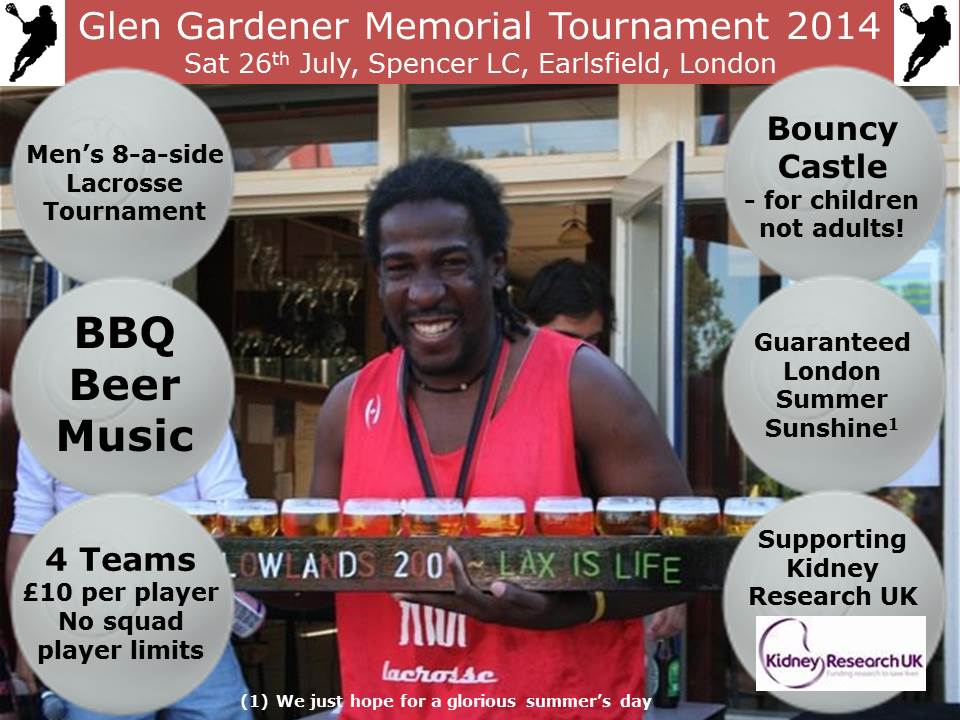 Glen Gardener Memorial Tournament 2014
