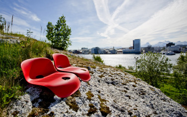 Gigseat - comfortable seating outside