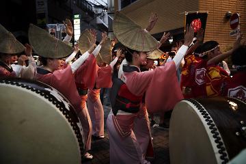 JAPAN TOKYO KOENJI AWA ODORI