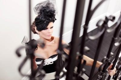 עיצוב שיער ואיפור להפקת אופנה