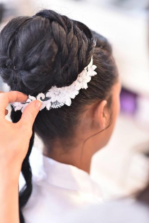 עיצוב שיער ואיפור לאסתר כלה / צילום: אהבנו