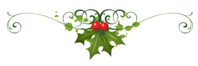 Holly Berry Scroll Single Chelsea Massage Christmas Gift Certificates Are Here!