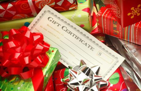 Chelsea Massage Christmas Gift Certificate