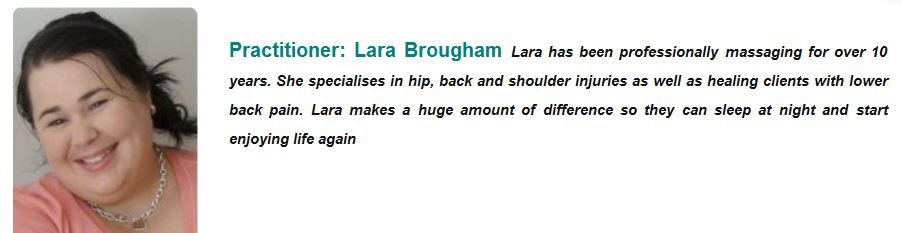 lara from newsletter