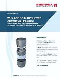 whitepaper why listed chimneys leak